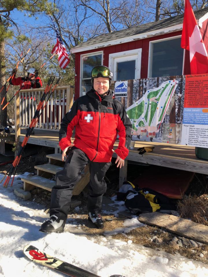 February news, ski patrol